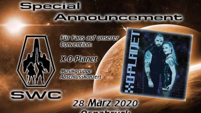 Star Wsrrior Con- Planet X-O