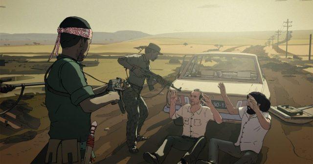 """Immagine tratta dal film """"Ancora un giorno"""" di Raúl de la Fuente e Damian Nenow"""