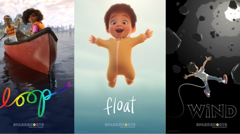 SparkShorts corti Pixar
