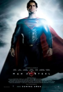 Man of Steel - Henry Cavill Theatrical Poster - Courtesy of Warner Bros. Pictures