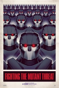 X-Men: Days Of Future Past - Sentinel Propaganda Poster 2 - Courtesy of Marvel Entertainment and 20th Century Fox