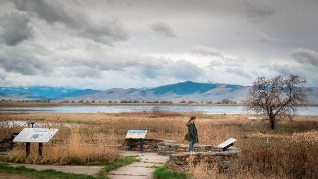 The beautiful landscape of Missoula, Montana, as captured in Vera Brunner-Sung's Bella Vista