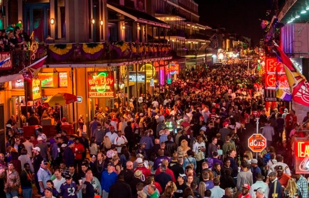 . You know you're in New Orleans when… Credit: Courtesy of the New Orleans Convention and Visitors Bureau