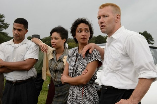 Alano Miller, Terri Abney, Ruth Negga and Joel Edgerton in Loving. Photograph by Ben Rothstein / Courtesy of Focus Features