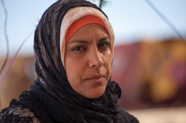 Ruba Blal plays Jalila in Sand Storm
