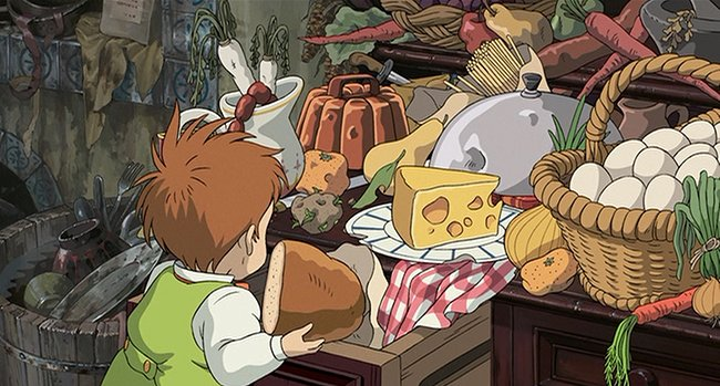 Feast For The Eyes Breakfast At Howl S Moving Castle