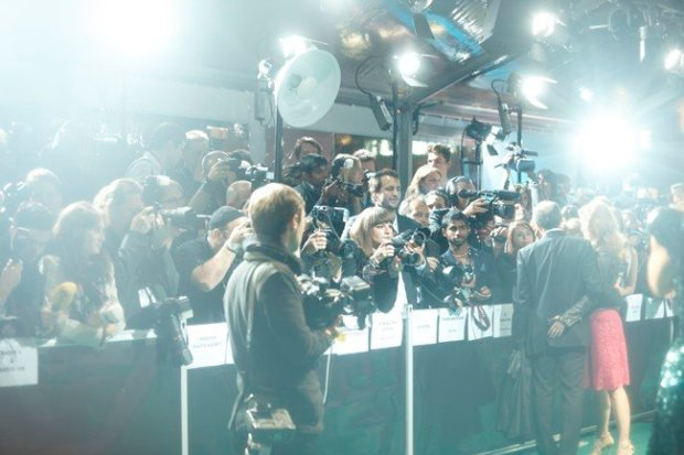 Glitz and glamour at the Zurich Film Festival in 2014
