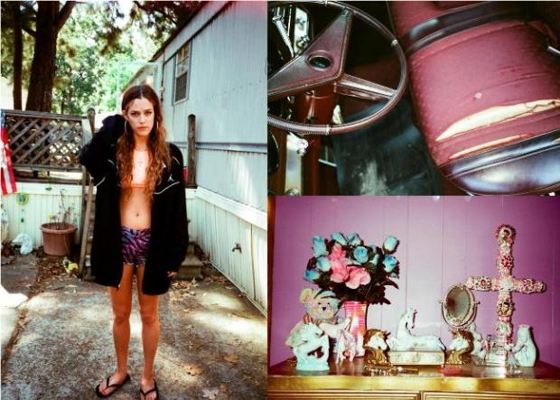 Stills by Khaki Bedford, featuring Riley Keough