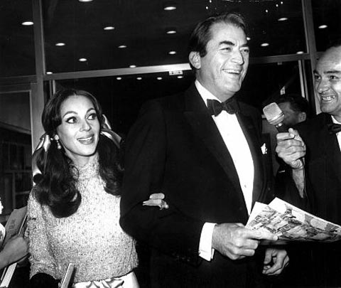 Gregory Peck and a Wide-Eyed Veronique Passani. No wonder he married her.