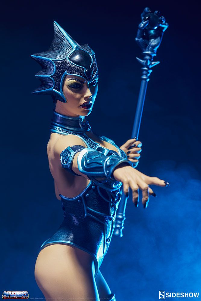 Masters Of The Universe Classic Evil Lyn Sideshow Collectibles Statue Exclusive Movie Mania