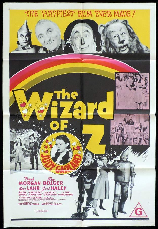 the wizard of oz one sheet movie poster judy garland