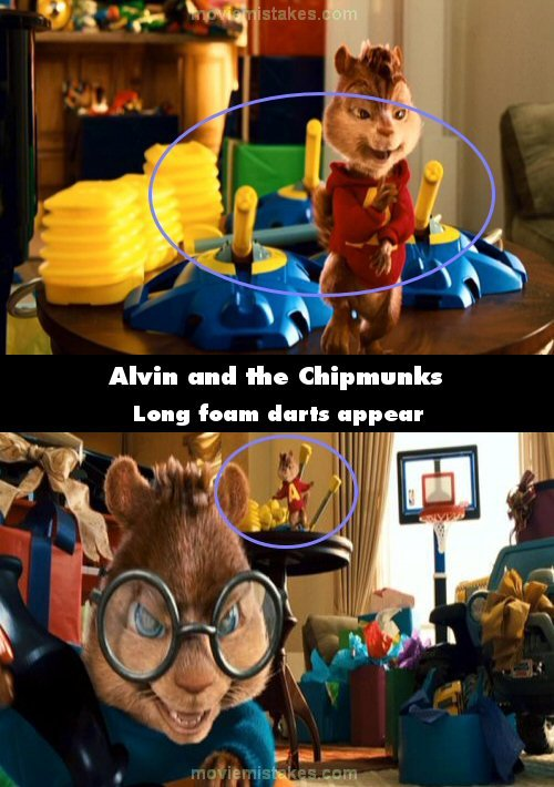 Alvin And The Chipmunks 2007 Movie Mistake Picture ID