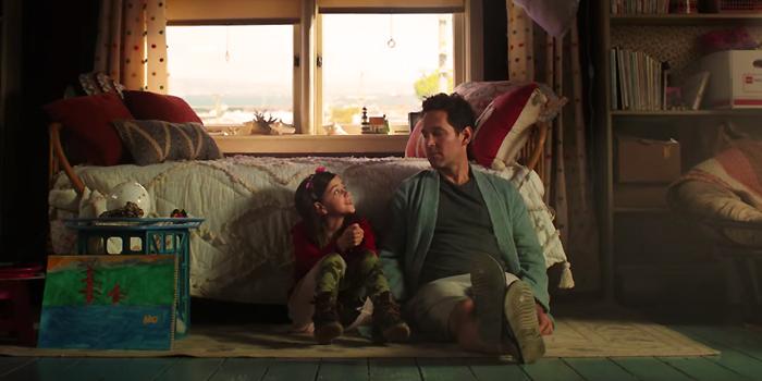 Scott Lang en Cassie