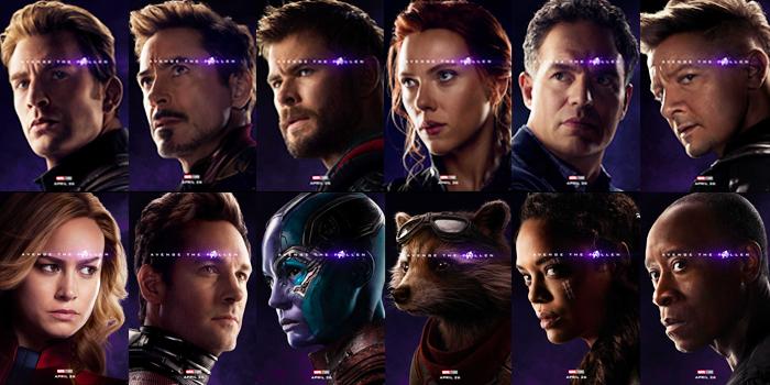 De overlevenden in Avengers Endgame