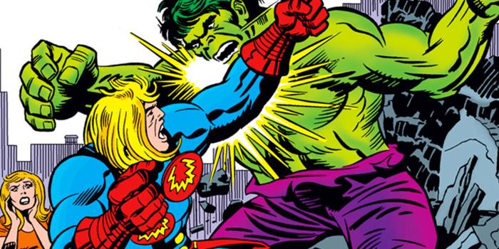 Eternal vecht tegen de Hulk