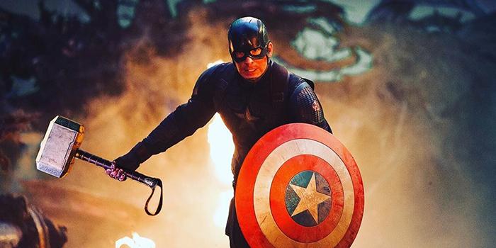 Captain America met Mjolnir in Endgame