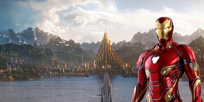 Tony Stark naar Asgard