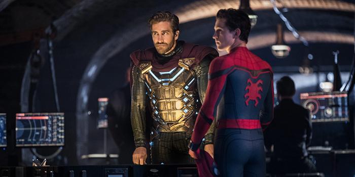 Quentin Beck en Peter Parker