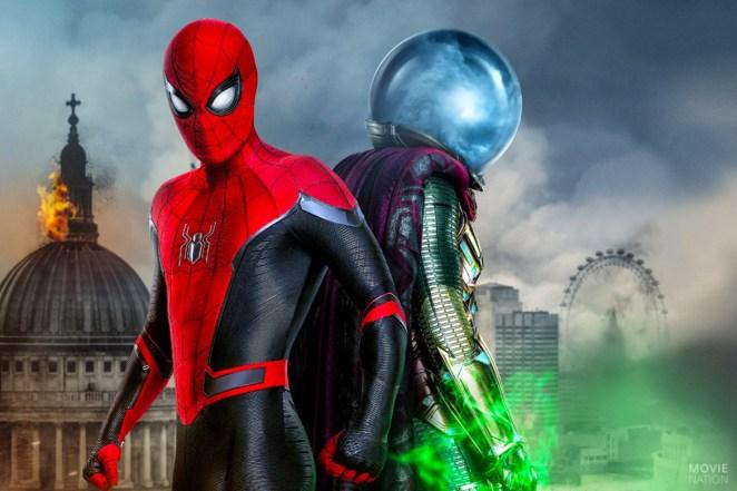Spider-Man en Mysterio