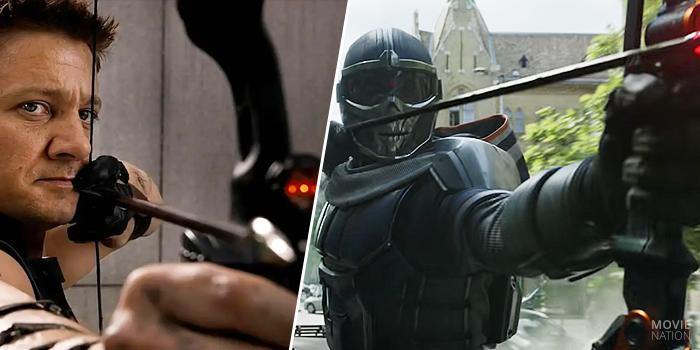 Taskmaster kopieert Hawkeye