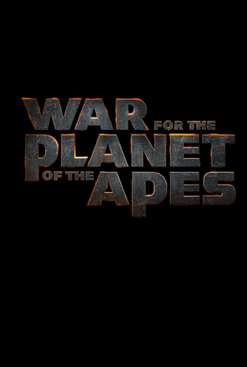Image result for war of the planet of the apes poster