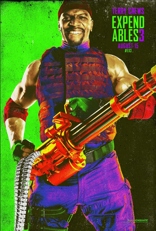 Expendables 3 Comic Con Character Posters Hit