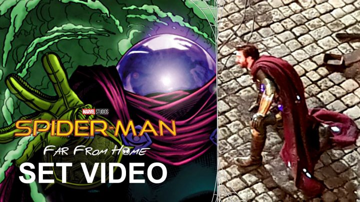 Spider-Man: Far From Home Set Video Jake Gyllenhaal as Mysterio