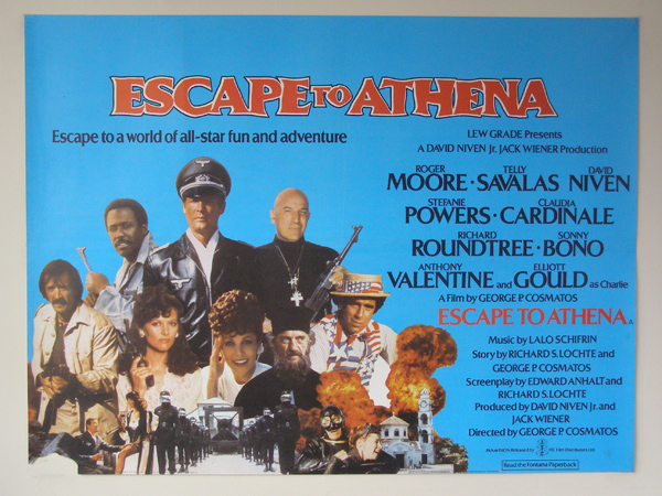 Image result for Escape To Athena poster