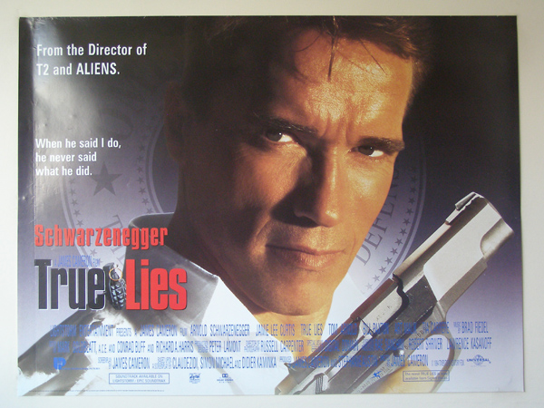 Image result for True Lies  uk movie poster