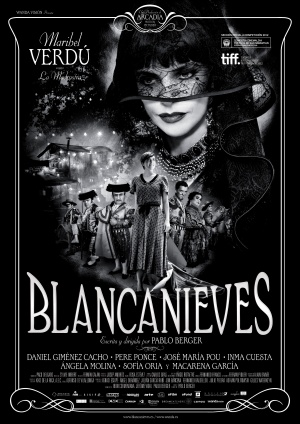 blancanieves snow white movie film black and white spanish silent