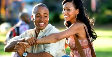 Columbus Short and Meagan Good in Stomp the Yard