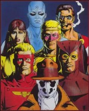 DC Vertigo grafic novel The Watchmen