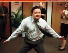 Ricky Gervais als David Brent in The Office
