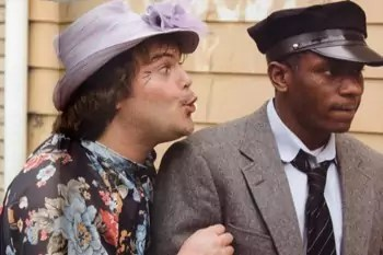 Jack Black en Mos Def in Be Kind Rewind