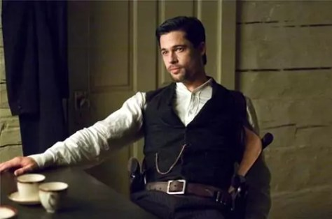 Brad Pitt in The Assassination of Jesse James