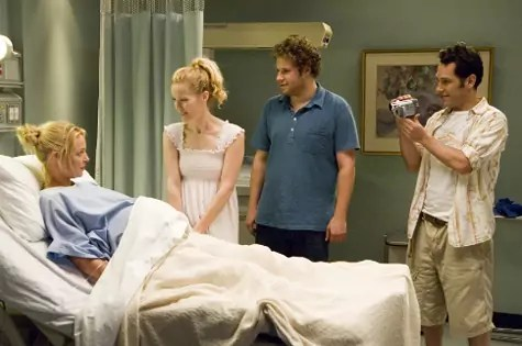 Seth Rogen en Katherine Heigl in Knocked Up