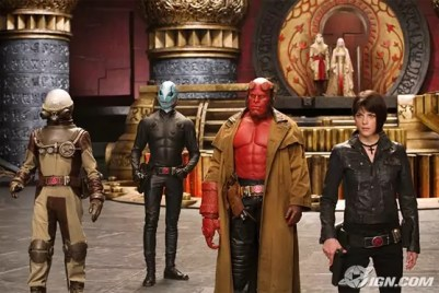 Main cast van Hellboy 2