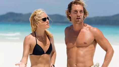 Matthew McConaughey en Kate Hudson in Fool's Gold