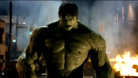 The Incredible Hulk CGI