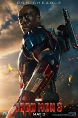 Iron Man 3 poster - Don Cheadle als War Machine
