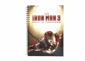Iron Man 3 notebook