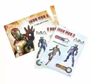 Iron Man 3 stickers