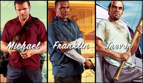 GTA V Michael - Franklin - Trevor