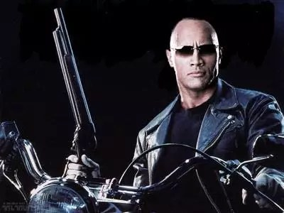 The Rock in Terminator 5