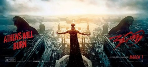 300: Rise of an Empire - Athens Will Burn wallpaper