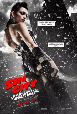 Sin City: A Dame To Kill For - karakter poster Rosario Dawson als Gail