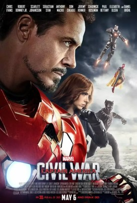 Laatste Captain America Civil War posters - TeamIronMan