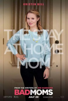 Bad Moms karakterposters - Kirsten Bell - The Stay at Home Mom