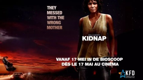 Halle Berry in Kidnap poster