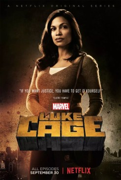 Luke Cage Netflix karakterposters - Clair Temple Night Nurse